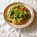 蝦子麺の焼きそば。