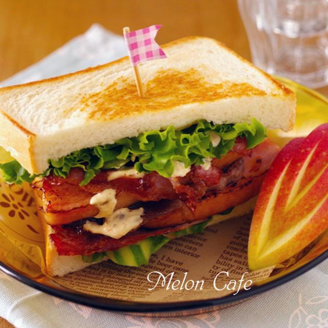 男子も喜ぶ♪まろやかスパイシー!トリプル肉の焼きサンドイッチ!!野菜とチーズいり(映画「シェフ 三ツ星フードトラック始めました」より)☆「第6回東京ごはん映画祭」コラボ企画!おいしい映画にちなんだレシピコンテスト投稿
