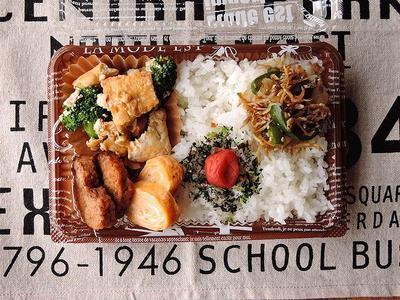 5/13(土)冷食ハンバーグ弁当