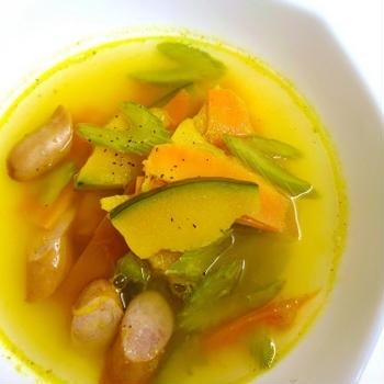 黄色のスープ