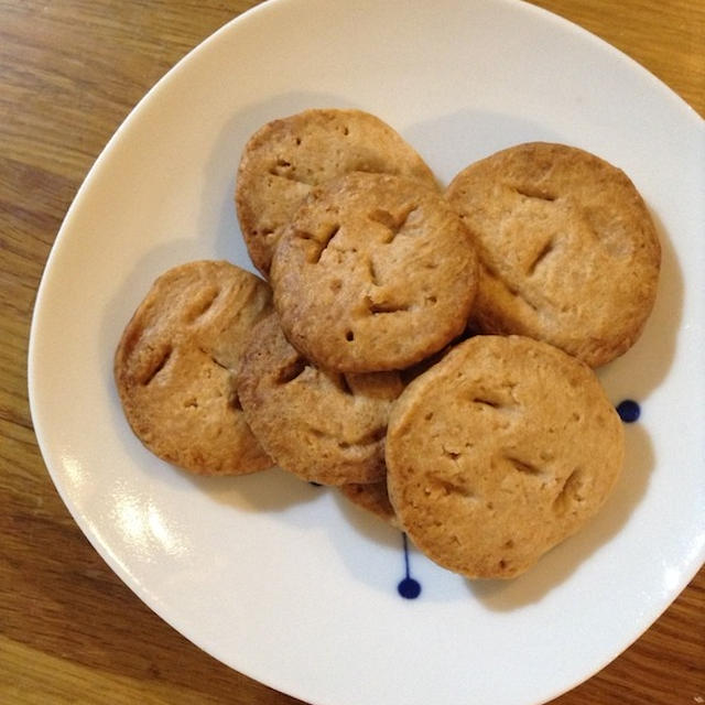 早速コンベクションオーブンを使う 「バタークッキー」