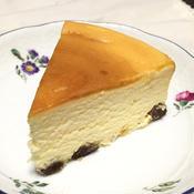 アニスがやさしく香る♪しっとりチーズケーキ