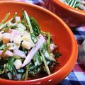 【レシピ動画】豆苗とコロコロチーズのマヨペパーサラダ~夕食もおつまみもこれでOK!~ by ☆s4☆さん