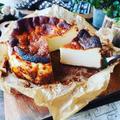 我が家の眠り姫❤️と、作りやすい材料とレシピで❤️バスク風チーズケーキ再び❤️