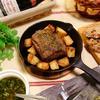 豚肩ロース肉のハーブマリネのオーブン焼き