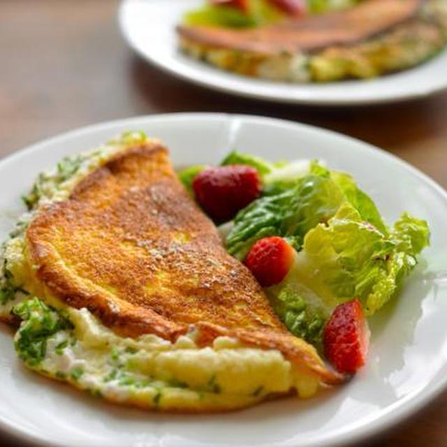 ★レシピ★ Soufflé Omelette(スフレオムレツ)