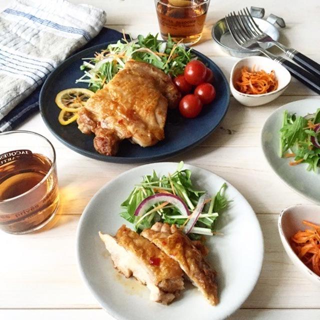 甘酸っぱい♪【鶏肉のスイチリレモンソース】簡単*お弁当*作り置き