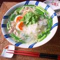 素麺でエスニック☆海老と豚肉のそうめんフォー【#アレンジ素麺 #ベトナム料理】