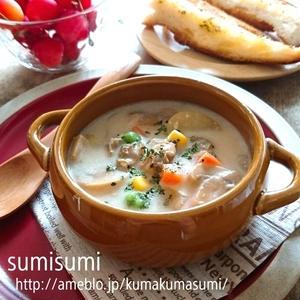 貝の旨みがたっぷり!朝食にもおススメのクラムチャウダーレシピ