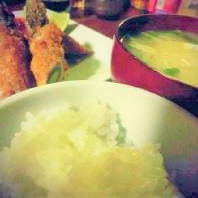 旬野菜*グリーンアスパラの肉巻きフライ♪