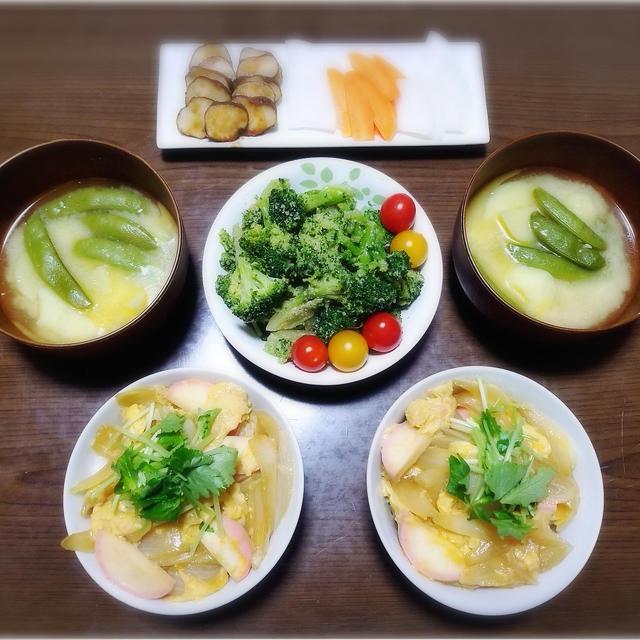【家ごはん/献立】 和の丼 2日分♪ * 玉ねぎの卵丼 * 牛丼