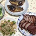 魚ソーセージと野菜の塩炒め