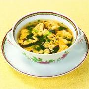 混ぜ込み中華風スープ