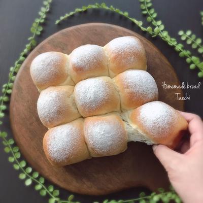 ミルクちぎりパン 丸めの大切さ