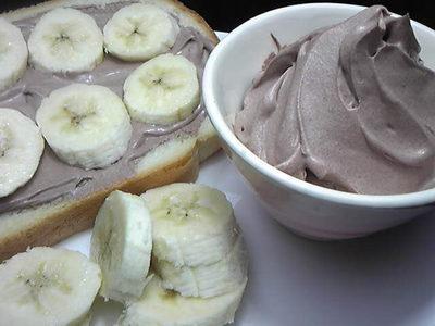 Vegan ♪  豆乳チョコ生クリーム