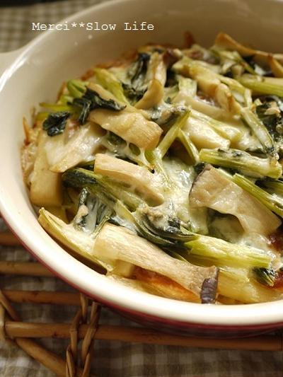 冷蔵庫整理メニュー♪ 醤油麹サーモンと野菜のオーブン焼き