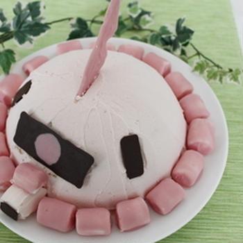2014年バレンタイン シャア専用ザクケーキ