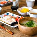 にぼし(いりこ)の出汁で味噌汁作りと、今日のレシピ
