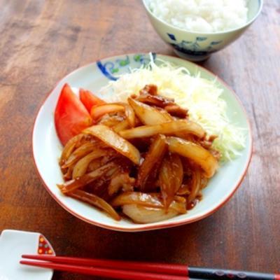 ご飯がすすむ!豚の生姜焼き