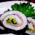 【レシピ】おつまみ! イカ刺しの磯辺巻き(^^♪ by ☆s4☆さん