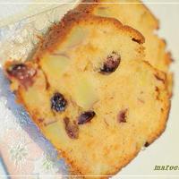 レーズンベリーとさつまいものパウンドケーキ