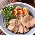 ゆで豚と卵のにんにく醤油漬け【#作り置き #お弁当 #冷凍保存 #低糖質 #糖質OFF #ダイエット #お正月 #おせち #主菜】