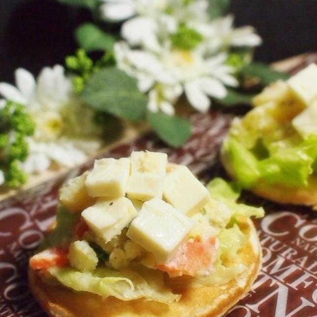 ★小岩井 オードブルチーズ de チーズとポテトのパンケーキサラダ 作ってみましたぁ♪