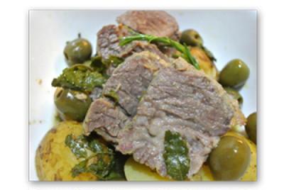 熟成牛肉の煮込み味噌、山椒風味【Beouf au Pate de Soja fermentee et Poivre japon 】