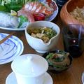 奉納明けの手巻き寿司