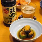 【うちレシピ】焼きピーマンのこぶおろし詰め / 【参加中】ヤマサ昆布つゆでつくるこぶおろしレシピコンテスト by cookpad