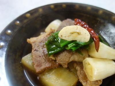 牛肉と大根のスパイス煮