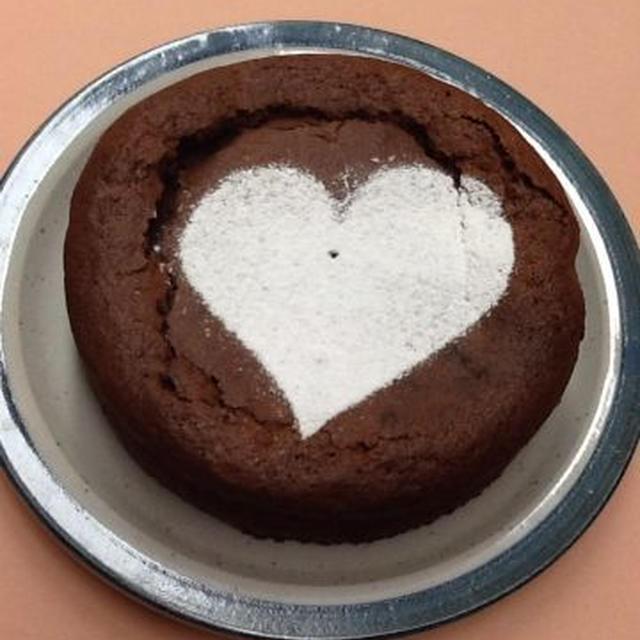 来週のチョコレートケーキは、私の中で一番シンプル!