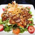 サンギョップサルサラダ -- 豚の三段バラ肉サラダ