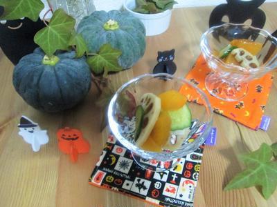 旬の食材で☆柿と蓮根のサラダ そして秋の空も・・・