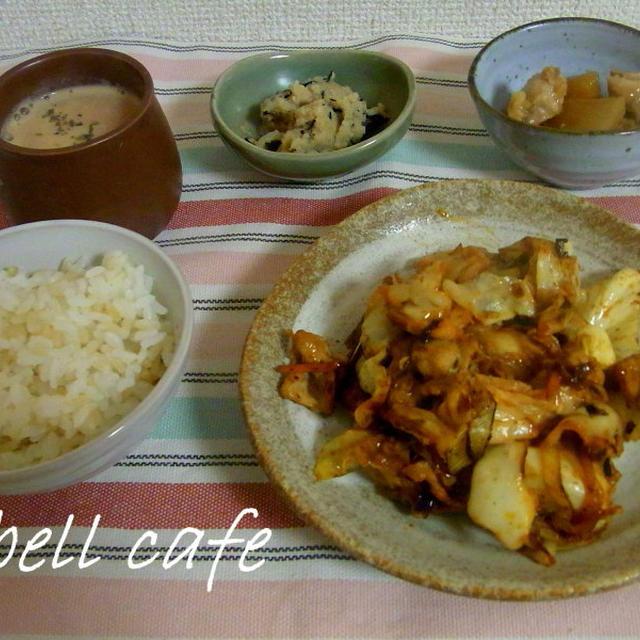大根と鶏肉の生姜煮