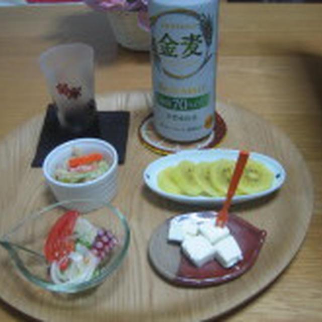 もやしとレタスのゴマドレッシングサラダ