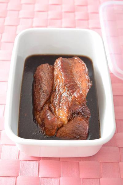 煮豚 お弁当用の作り置きレシピ