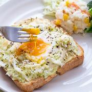 朝ごはんにオススメ!もりもり「キャベツトースト」レシピ