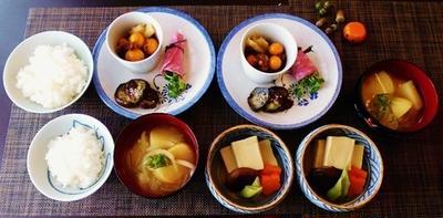 貴重な部位発見☆高野豆腐の炊き合わせ♪~♪