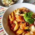 Zucchini e funghi marinatiズッキーニとエリンギのマリネ