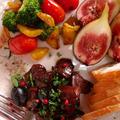 「鶏レバーのバルサミコワイン煮」