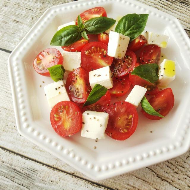 大分県産ミニトマトのサラダ&フローズントマト