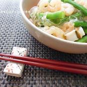 アジアン風シーフードサラダ