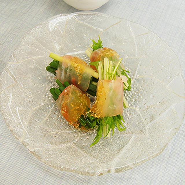 ヒラメの野菜巻き2種