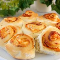 明太子チーズパン モニターレシピ♫