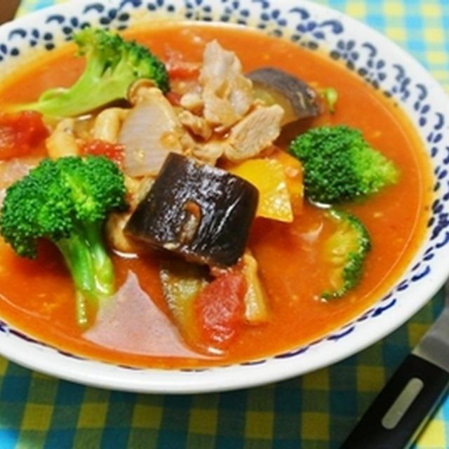 夏野菜のトマトシチュー