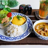 アジアンミックス1本で旅行気分♪ 鶏ひき肉でラープ風サラダ