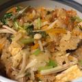 圧力鍋で山菜おこわ