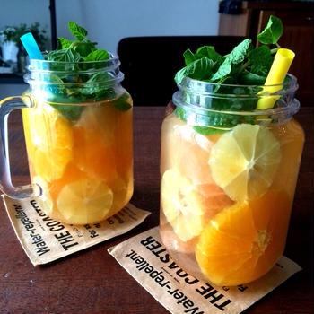 柑橘ミックスのフルーツビネガーウォーター