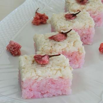 レシピ*鯛そぼろの押し寿司*お花見やおひな祭りに